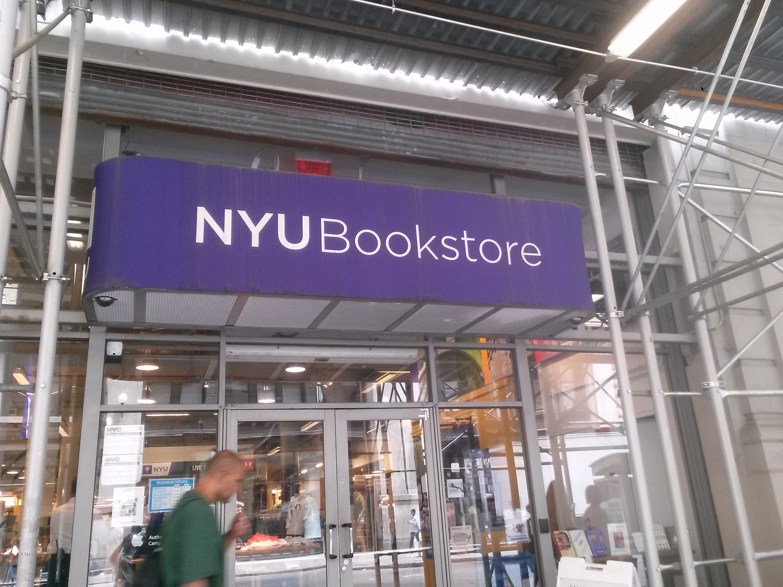 Main NYU Bookstore: 726 Broadway, between Waverly and Washington